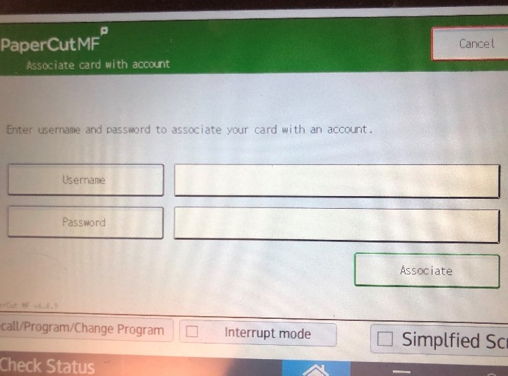 Picture of computer prompt to enter NetID and password.